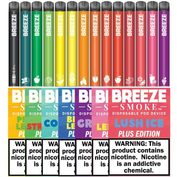 Breeze Plus Disposable Vape